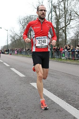 Arrivée du semi-marathon de Paris